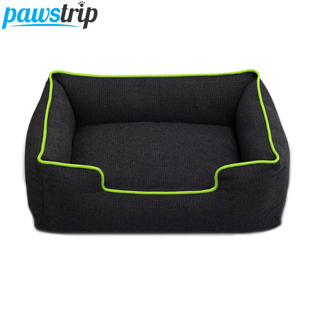 Pawstrip 4 Colors Jean Small Dog Bed Waterproof Bottom Chihuahua Puppy Beds Winter Warm Cat