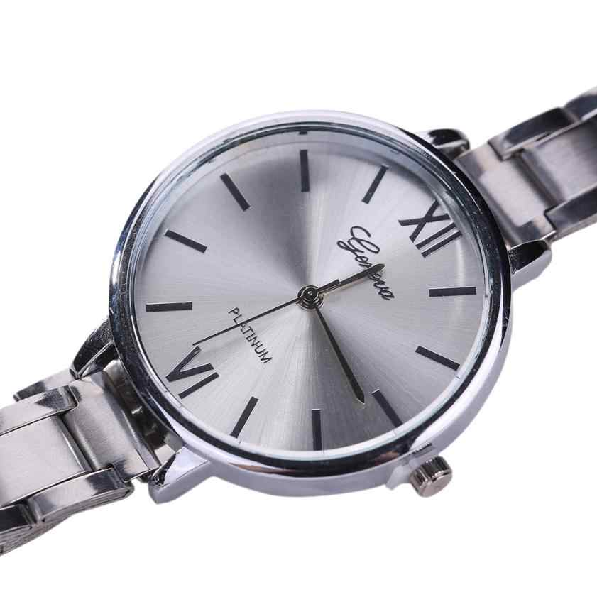 Exquisitos relojes pequeños y sencillos para mujer, Relojes retro de acero inoxidable para mujer, relojes de pulsera a la moda de diseño mini para mujer, reloj