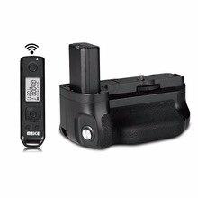 Meike MK-A6500 pro Батарейная ручка Встроенный 2,4 ГГц пульт дистанционного управления вертикальной съемки Функция для sony a6500 камера