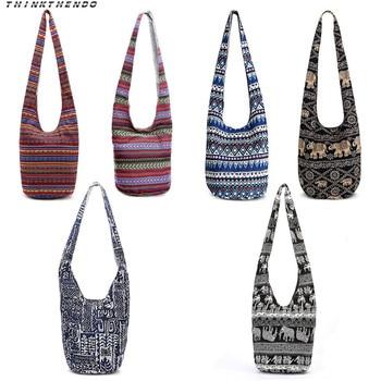 THINKTHENDO Fashion Women Hippie Shoulder Bags Fringe Large Capacity Purses Ethnic Tote Handbag Travel Bag New Multifunction цена 2017