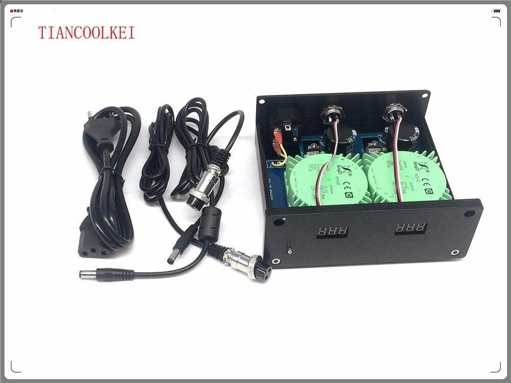 DC -A1 50W Dual External Linear Power Supply DC5V 9V 12V 15V 24V for Tube preamplifier XMOS DAC / USB converter, 110V & 220V 50w 100w dc linear regulated power supply dc output 12v 24v voltage optional precision power supply for dac tube amplifier