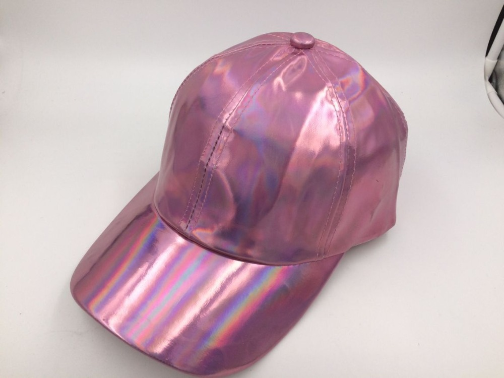 ed0937cf4d9d8a Detail Feedback Questions about Fashion Unisex Silver Laser Baseball Cap  Men Hip Hop Caps Holographic Casquette Women Sport Rainbow Basketball Hat  Free Ship ...