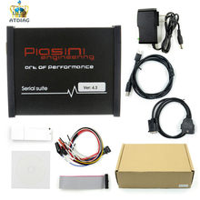 2019 Newly Black PIASINI v4.3 MASTER Full Version ECU Programmer Serial Suite(JTAG-BDM- K-line-L-line-RS232- CAN-BUS )(China)