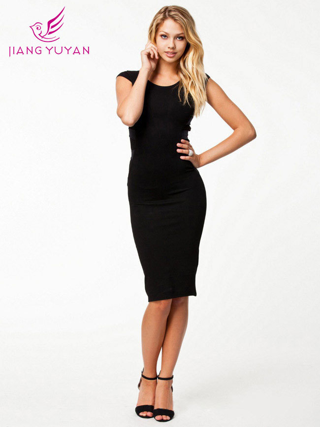 919ddbaec Oto%C3%B1o-invierno-Vintage-Sexy-encaje-negro-vestido -ajustado-mujer-elegante-manga-francesa-rodilla-longitud-del-vendaje