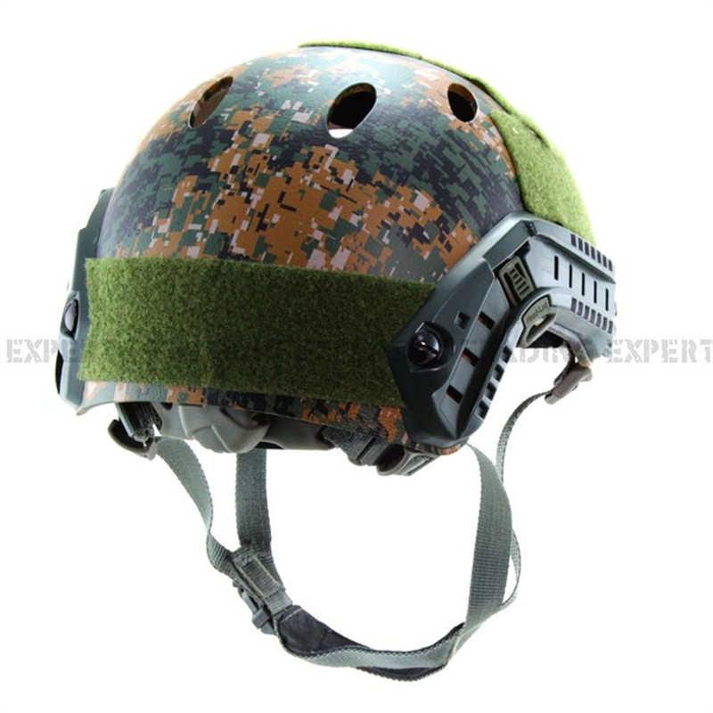 Base de salto rápido casco ABS cáscara (bosque de marpath)