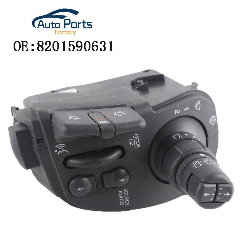 Auto Zubehör Radio & Scheibenwischer Lenksäule Kombination Schalter Für RENAULT CLIO III MODUS KANGOO OEM 8201590631
