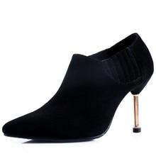 Frau partei schuhe thin high heels echtes leder frühjahr pumpen punkt toe damen frauen high heels schuhe