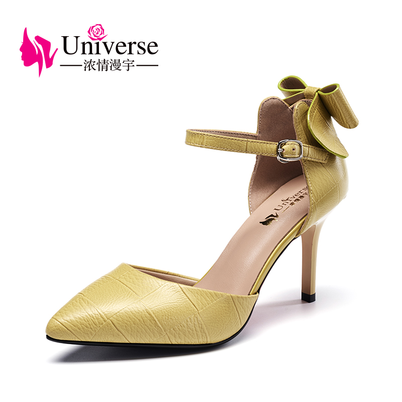 Universe Elegant Pumps Wedding shoes Party shoes with Butterfly-knot Sweet Super High Heel Women Shoes G115 цена