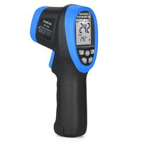 KKMOON Digital Infrared Thermometer Handheld Non contact 50~1500 C Double Laser Temperature Meter Pyrometer Thermometer