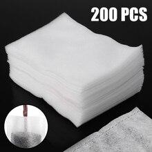 200 шт./лот новые биоразлагаемые нетканые тканевые мешки для питомника 8 см* 10 см белые экологически чистые цветочные мешки для выращивания растений горшки для рассады