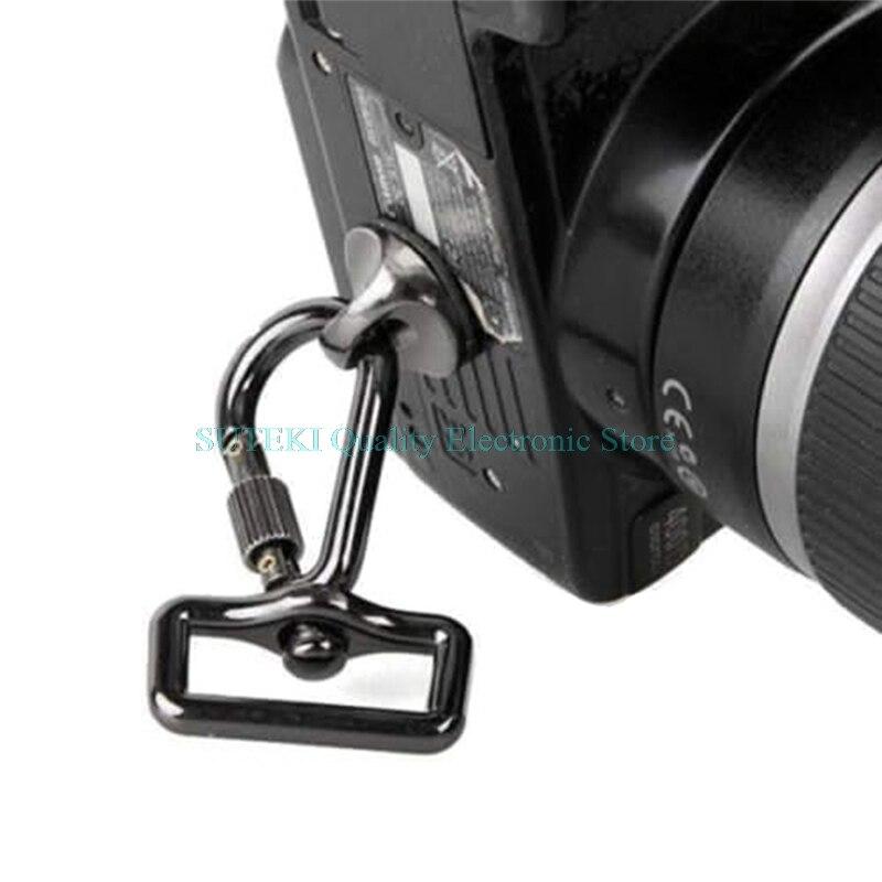 SLR DSLR Camera 0 25in Screw Connecting Adapter Hook For Shoulder Sling Strap