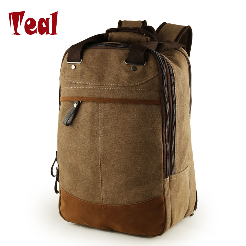 Men backpack Canvas Travel Bag Computer Backpack school bag canvas bag designer backpacks for men Multifunctional Travel Bags new canvas backpack travel bag korean version school bag leisure backpacks for laptop 14 inch computer bags rucksack