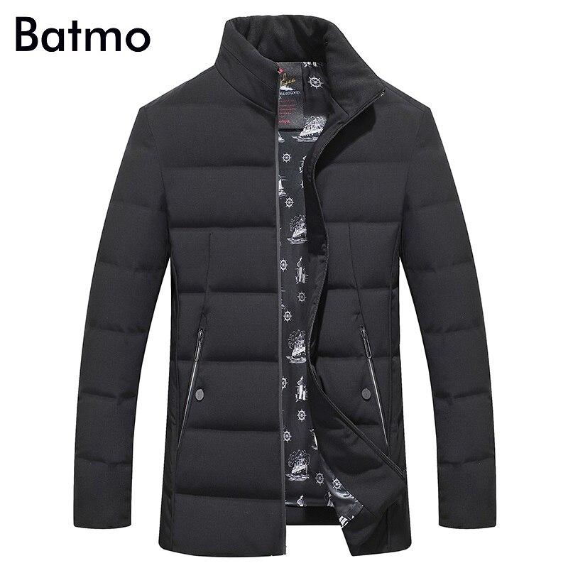 Batmo 2017 new arrival winter high quality 90% white duck down jacket men,winter mens coat ,plus-size M,L,XL,XXL,XXXL 8911
