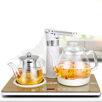 Electric kettle Tea  induction furnace tea with automatic water kettles glass pumping Overheat Protection