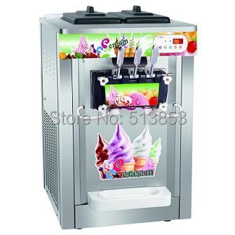 220V/50Hz,Stainless Steel Rainbow Ice Cream Machine with Rainbow Jam System CE with UK electric plug FREE Shipping vesonal brand casual shoes men loafers adult footwear quality ons boat soft driving genuine leather man mocassin male walking