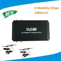 180 км/ч Мобильная цифровая Автомобиль DVB T2 ТВ приемник/HB DVB T2 цифровой TV Box 4 Телевизионные антенны внешний USB HDMI подойдет российский юго Восточ