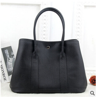 100% genuine leather luxury bag garden party tote bags handbags women famous brands high quality cow leather shoulder bag V6G225 tote bag