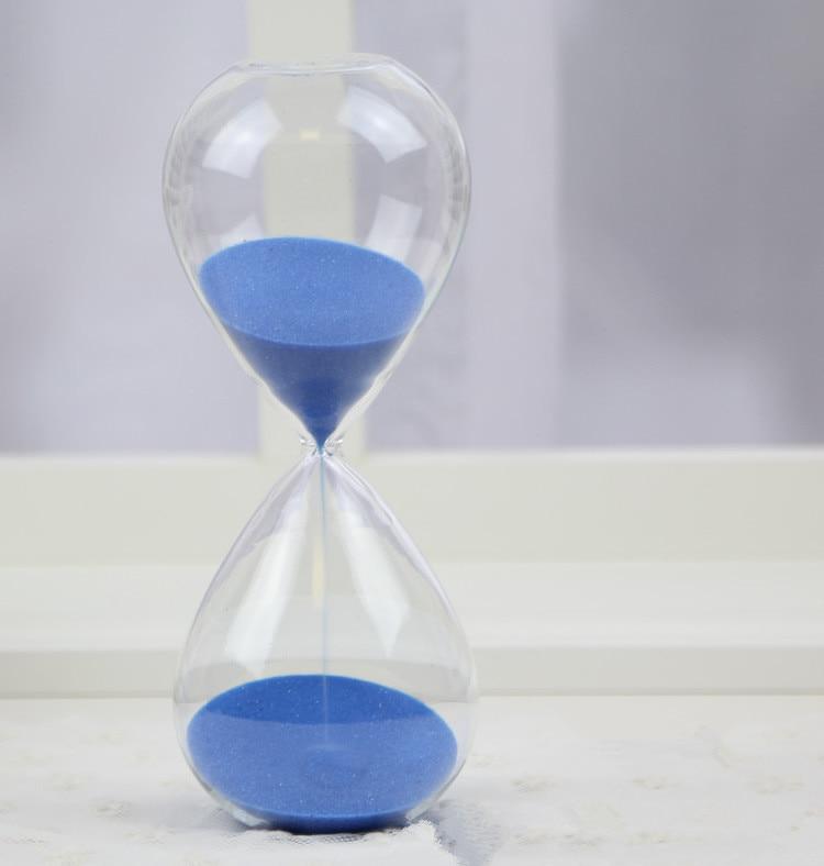 1PC 60 dəqiqə Awaglass Əllə partladılmış Taymer saatı - Ev dekoru - Fotoqrafiya 3