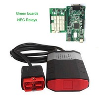 VCI OBD2 New Diagnostic Tool Convenient Dual Green Boards Scanning Apparatus Vehicle Scanning Kit For Cars Trucks