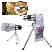 18x Optical Zoom Aluminum Telescope Tripod Camera Lens Holder For HTC ONE M9 M9 PLUS M8