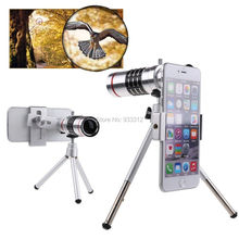 Universal 18x Zoom Telescope font b Camera b font Lente lens Aluminum Tripod For HTC ONE