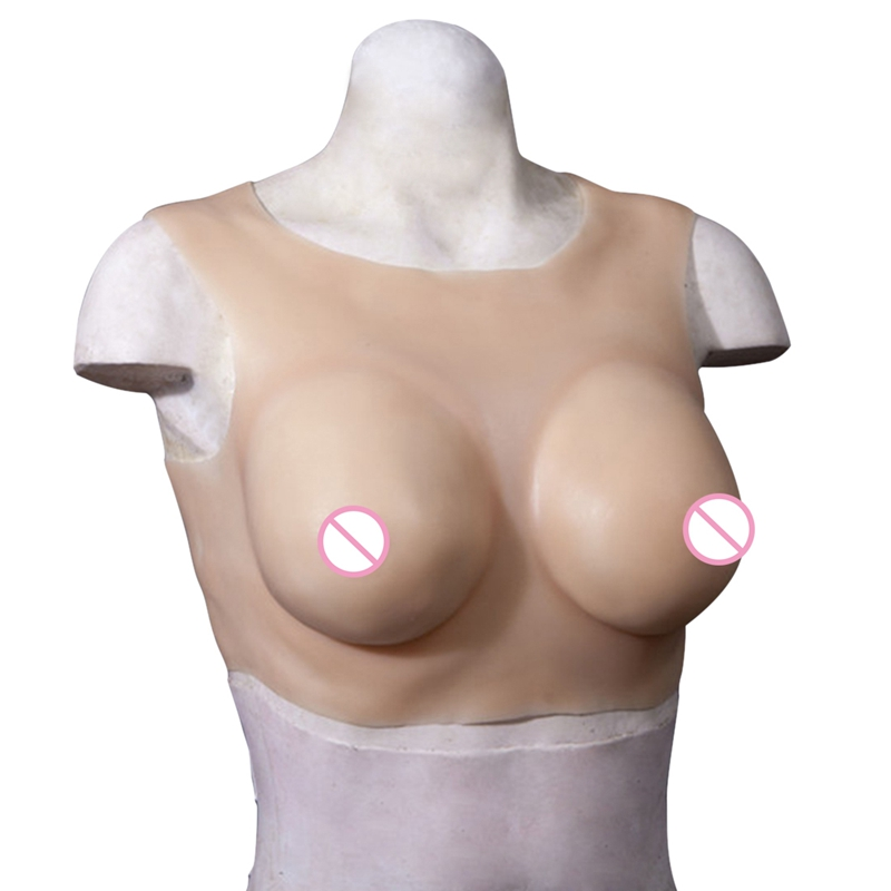 Half Body Breast Forms E Cup for Crossdresser Realistic High Grade Silicone Breasts Enhancer Trandsgender Artificial Boobs 800g 1000g 1200g realistic silicone breast forms artificial huge false boobs enhancer crossdresser for man shemale trandsgender