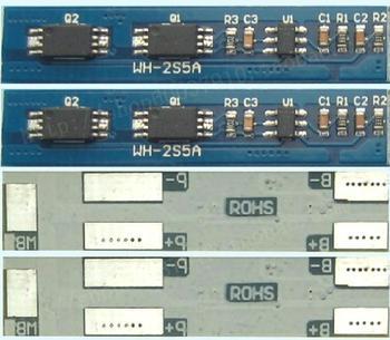 Новое зарядное устройство PCB Защитная плата для 2 упаковок 7,2 В 7,4 В 8,4 В литий-ионная литиевая батарея макс. 5А