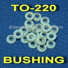 (50 шт./лот) изоляции Втулка для К-220 транзистора, стиральная машина.