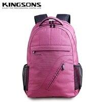 Kingsons Airbag shock shoulders computer bag 16 inch men and women Laptop Bag Backpack free shipping