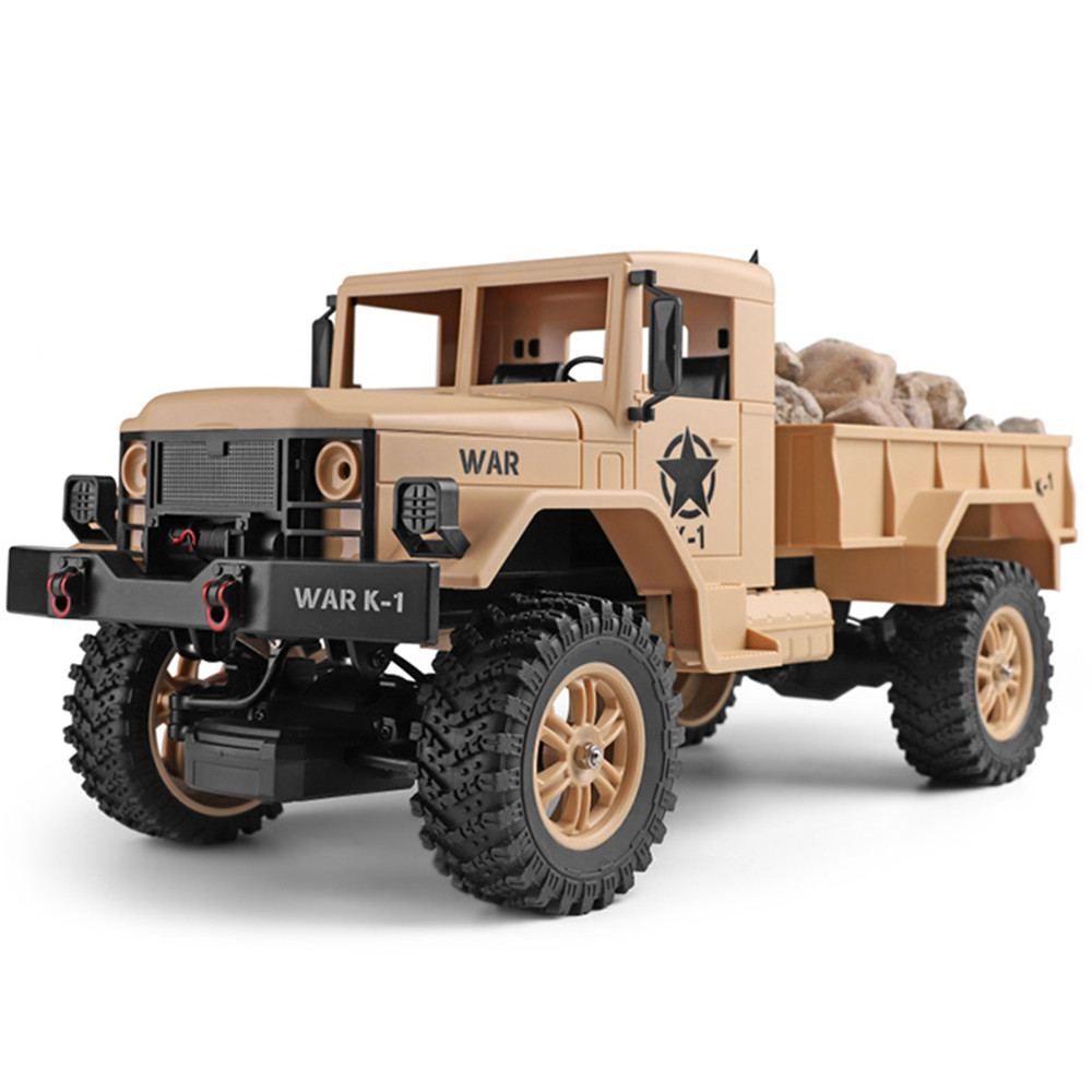 Hot Sales Remote Control RC Trucks Mini Electric Four-Wheel 1/12 RC Military Truck Toys For Children Radio-Controlled Cars Army