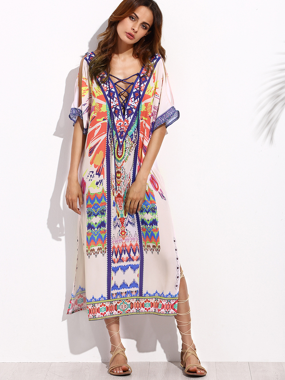 108fb61a6a792 New Fashion 2017 Women S Summer Bohemian Style Dress Sexy Sundresses ...