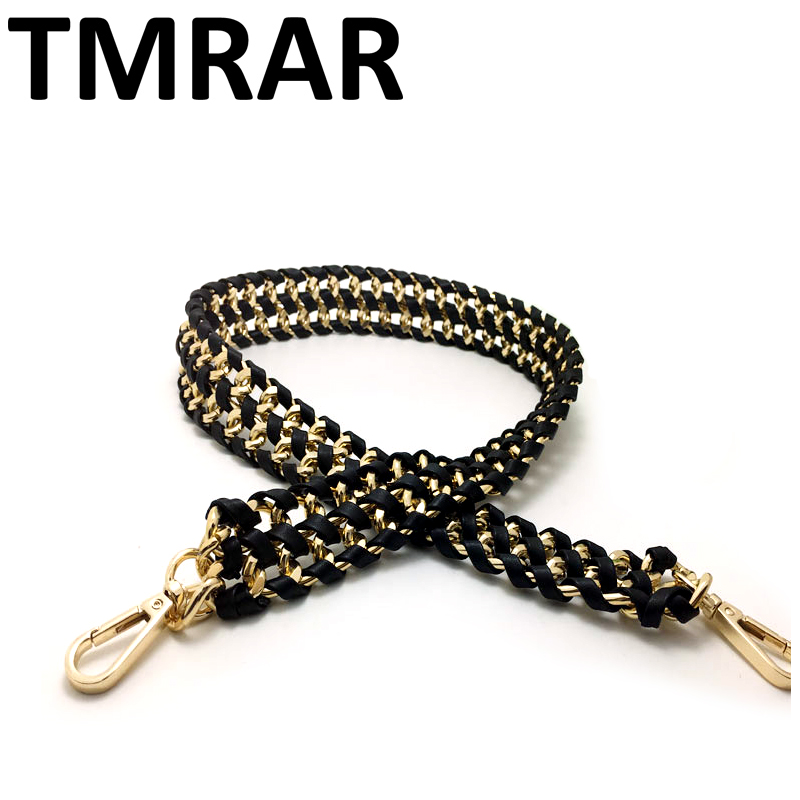 New 2019 Design Knitting Panelled Handbag Belt Trendy Chain Bags Strap Bag Parts Bag Accessory Easy Matching Qn138