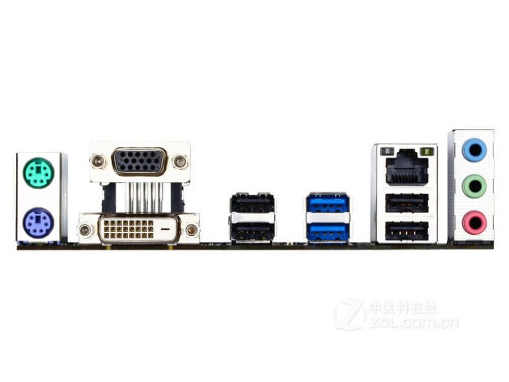 Gigabyte GA-H81M-D2 LGA1150 H81 Nguyên Bản Máy Tính Để Bàn Bo Mạch Chủ H81M-D2 1150 DDR3 USB3.0 SATA3