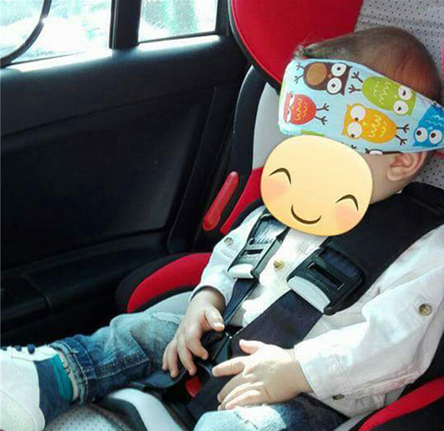 Youwinme Baby Car Seat Headrest Sleeping Head Rest Support Pad Kids Travel Strap Eliminates Pressure