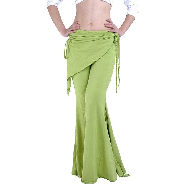 Großhandel Lothes Spanien 2016 Tribal Fusion Bauchtanz Kleidung Damen Hohe Taille Flare Hosen Yoga Hosen Plus Größe Damen Bauchtanz Hose Fü Von