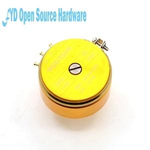 Image 3 - 1pcs WDD35D 4 precision conductive plastic potentiometer angular displacement sensor 1K 2K 5K 10K linear 0.5%