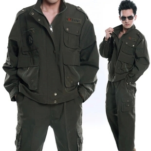 Military Eagle style 101 airborne division sets for men usa army suit sets fatigue dress ...