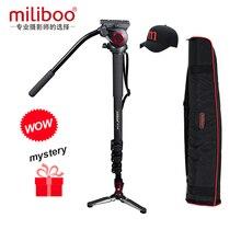miliboo Professional Carbon fiberTripod Monopod DSLR Camera Portable Camera Monopod Stand better than manfrotto tripod