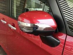 Dla Toyota przestronne lusterko wsteczne wykończenia foglamp klamka do drzwi pokrywa misy ABS chrome