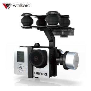 Image 3 - Cardan sans brosse en alliage daluminium dorigine Walkera G 2D pour caméra iLook / Gopro Hero 3 / Sony pour QR X350 PTZ