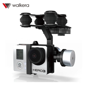 Image 3 - Оригинальный безщеточный карданный подвес Walkera G 2D из алюминиевого сплава для камеры iLook / Gopro Hero 3 / Sony для QR X350 PTZ