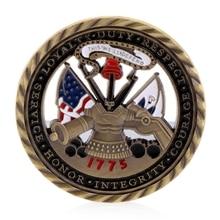 Новая армия США основные ценности позолоченный памятный вызов коллекция монет искусство подарок