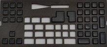 Pbt черный пустой das колпачки для 61 87 104 108 Filco minila Razer Игры Механическая клавиатура