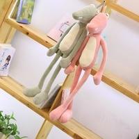 125 Cm Adorable Stuffed Animal Crocodile Plush Toy Alligator Cotton Pillow Cushion Plush Toy For Children Climbing Practice