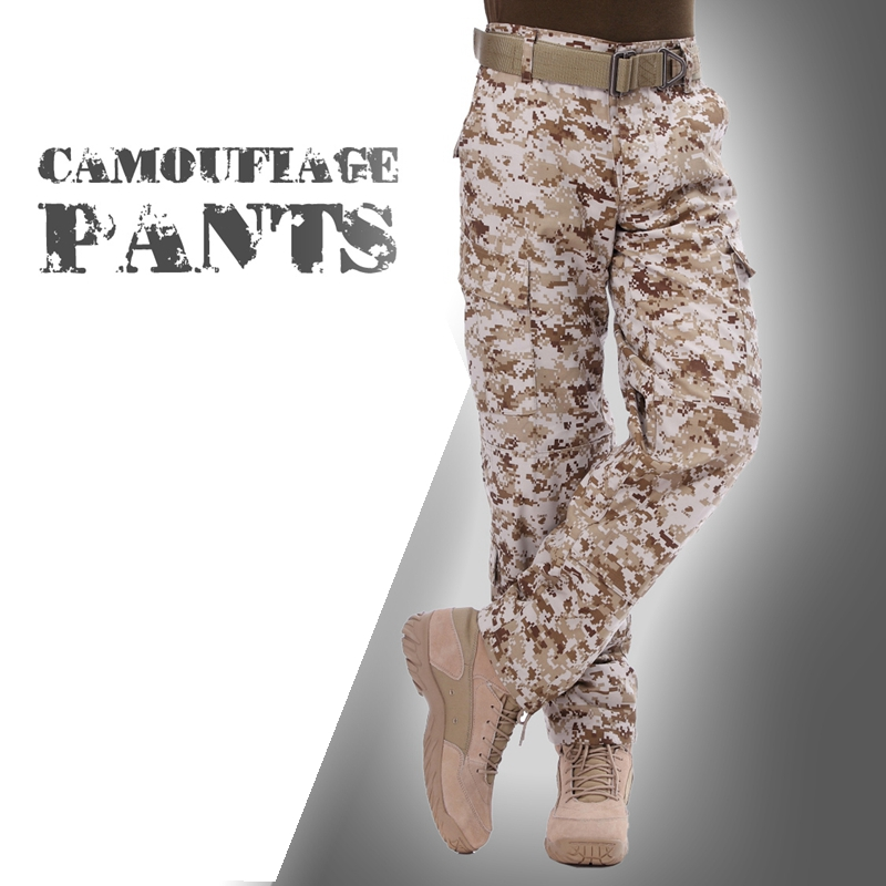 Hunting Army Uniform Pants Combat Pants Tactical Outdoor Army Sport Training Dust Trouse ...