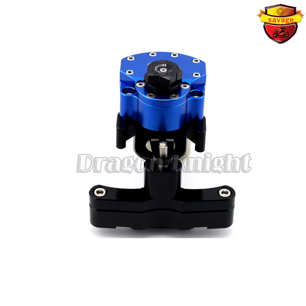 Cbr650f Motocycle Accessories for HONDA CBR 650f 2014-2015 Stabilizer Steering Damper mounting bracket Blue for honda cbr 650f cbr650f 2014 2015 2016 motorcycle steering damper stabilizer adjustable linear with bracket kit c