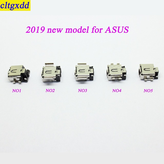 cltgxdd 2019 new coming DC power jack for Asus U5100 4.5*3.0MM 4.5*2.65MM DC socket connector for laptop notebook PC