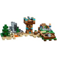 723pcs My World The Crafting Box House Mine Desert 10733 Model Building Blocks Toys Bricks Compatible with Legoing Minecrafted