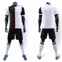 19/20 new blank adult childrens soccer clothing suit sportstement football set boy child Futbol training uniform shorts