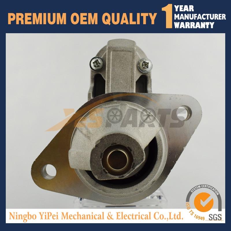 12V NEW STARTER FOR YANMAR MARINE ENGINE 1GM 1GM10 1GM10C 2GM 2GM20 2GMF